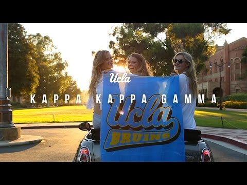 UCLA Kappa Kappa Gamma Recruitment 2015