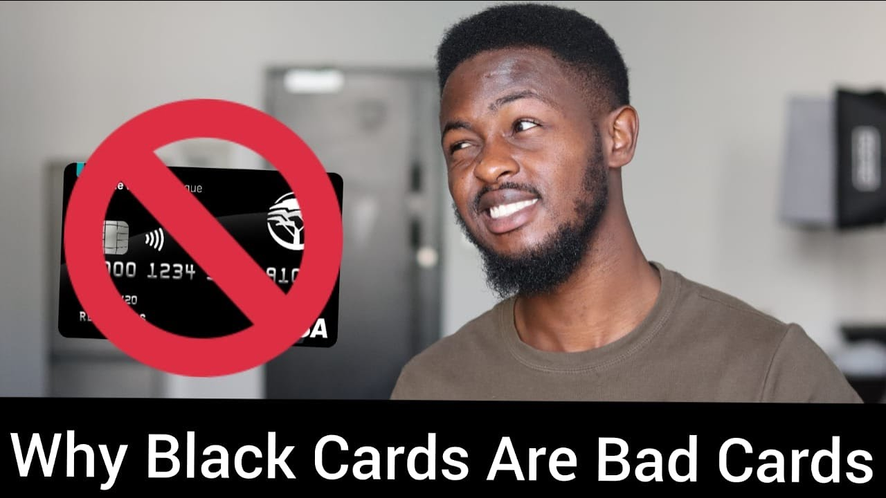 Download Why Black Cards Are Bad Cards. Watch this if you want an FNB Black Card