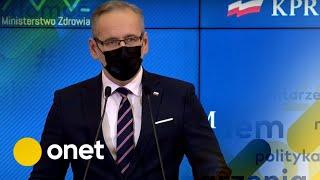 Koronawirus w Polsce. Nowe obostrzenia. Konferencja prasowa ministra zdrowia