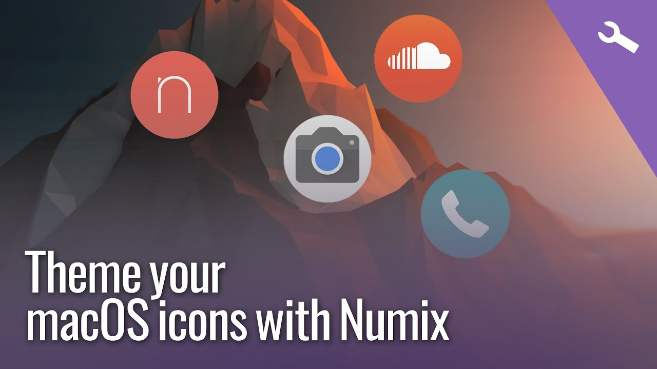 macOS icon pack theming guide - Numix Circle Icon pack