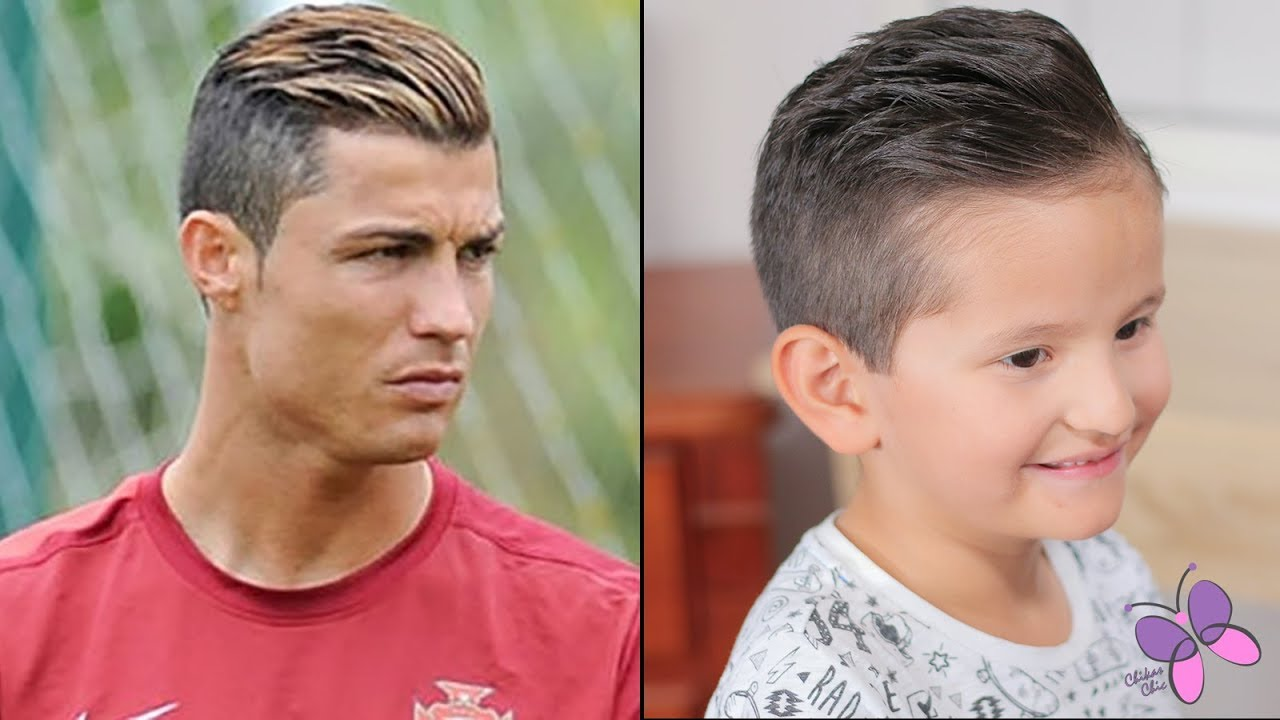 Cristiano Ronaldo Haircut And Hairstyle For Boys Youtube