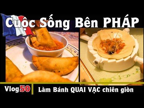 Làm bánh QUAI VẠC chiên giòn tại nhà với máy PHILIPS và khuôn xếp- Cuộc Sống Bên PHÁP vlog #50
