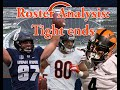 Chicago Bears Training camp roster Preview: Tight ends (ep. 7)