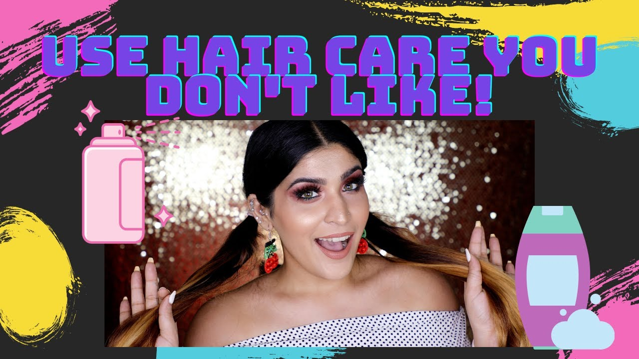 How To Use Haircare You Don't Like | Multiple Ways Of Using Hair Products | Shreya Jain