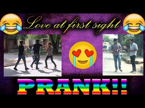 Love at first sight (Prank)