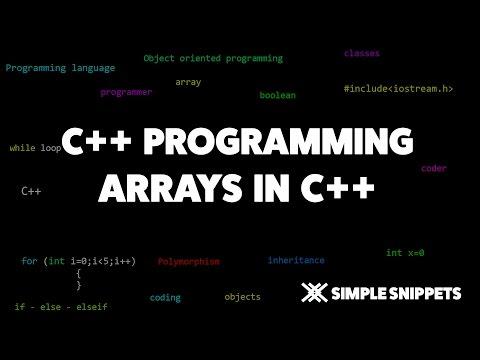 arrays-in-c++-programming-|-c++-programming-tutorials-for-beginners
