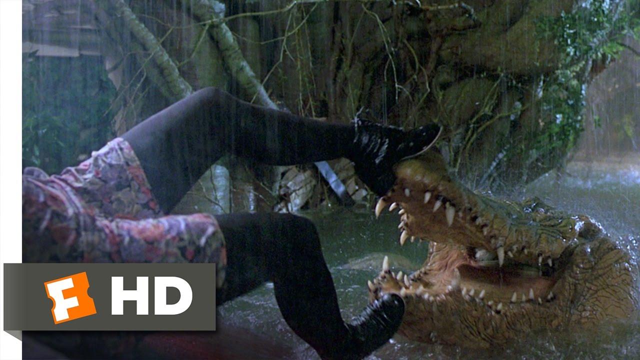 6b3ea3eb32d6 Jumanji (5 8) Movie CLIP - Crocodile Attack (1995) HD - YouTube
