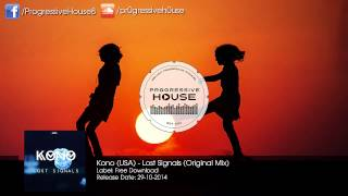 Kono (USA) - Lost Signals (Original Mix) [Free Download]