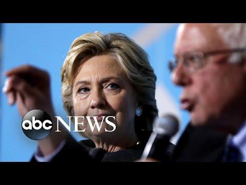 Hillary Clinton has harsh words for Bernie Sanders