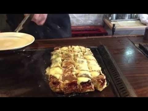 秘密のケンミンSHOW  富山県 ぼてやん多奈加 お好み焼き 豚たま いか焼きそば