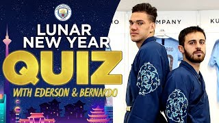 LUNAR NEW YEAR QUIZ | Bernardo Vs Ederson
