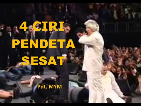 Pdt. MYM: EMPAT CIRI PENDETA PALSU