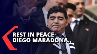 Diego Maradona Meninggal Dunia, Warga Argentina Berduka