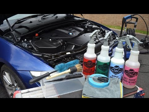 **How to SUPER CLEAN Your Engine Bay**