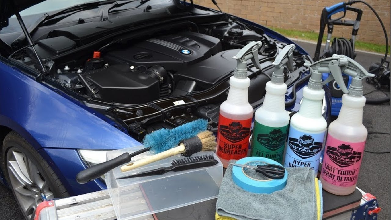 How Do Car Dealers Clean Engines