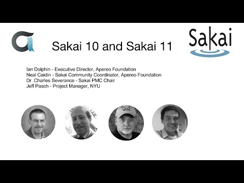 Sakai 10 release and roadmap for Sakai 11