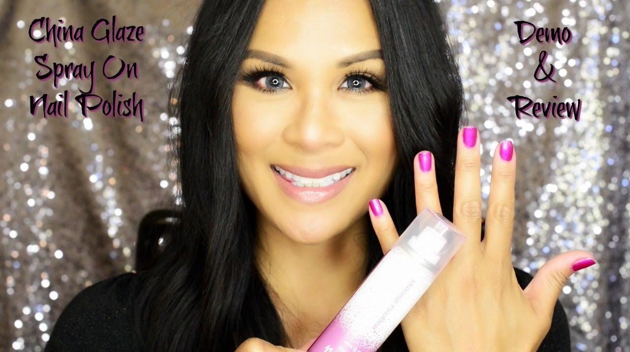 Spray on nail polish china glaze nail spray reviews - Spray On Nail Polish China Glaze Nail Spray Reviews 1