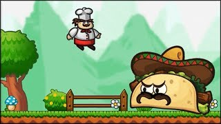 Run and Jump Gino - First area (13 levels) + Boss battle