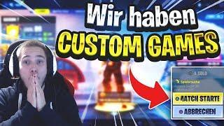 ENDLICH CUSTOM GAMES! Turnier, Jonny Sagt und mehr!😍 JEDER kann MITMACHEN ❤ Fortnite Live deutsch