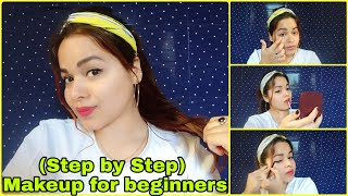 (Step by Step) Easy Makeup for Beginners ||Makeup Tutorial in 2020 for Beginners #easymakeuptutorial