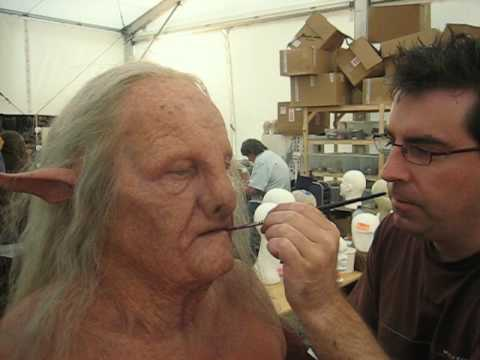 NARNIA CHRONICLES - Prince Caspian Prosthetic Makeup