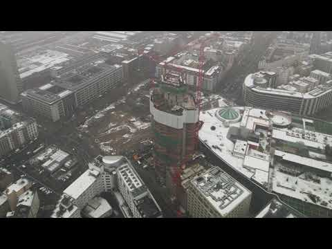Grand Tower Frankfurt - Zeitraffer