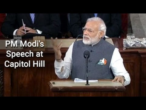 Watch full speech: PM Modi addresses US lawmakers at Capitol Hill