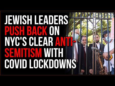 Covid Lockdowns In NYC Have LARGELY Affected Jewish Neighborhoods