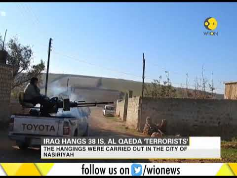 Iraq hangs 38 IS, Al-Qaeda 'Terrorists'