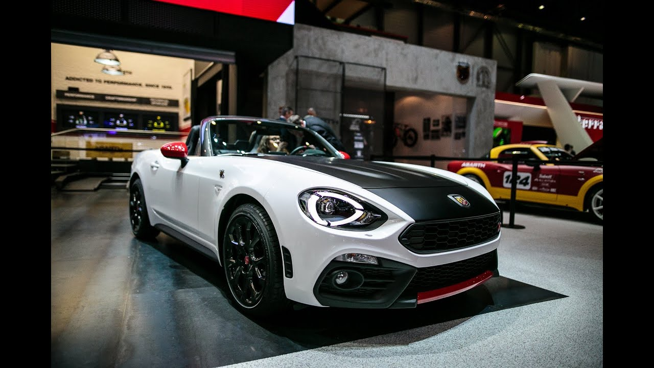 2017 fiat abarth 124 spider first look 2016 geneva motor for Fiat 124 spider motor