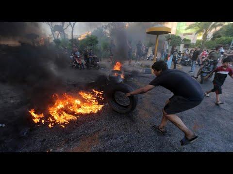 لبنان: مظاهرات في مدن عدة احتجاجا على تدهور سعر الليرة إلى مستويات قياسية