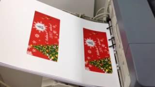 Печать открыток на OKI C9655(Цифровая печать новогодних открыток в Рекламной компании Просто Studio www.prostostudio.ru., 2016-12-23T21:49:08.000Z)