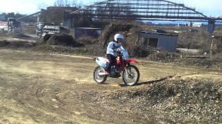 honda XR250R jump