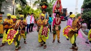 GHMC election results 2020: Folk dancers perform at TRS office to celebrate party's performance