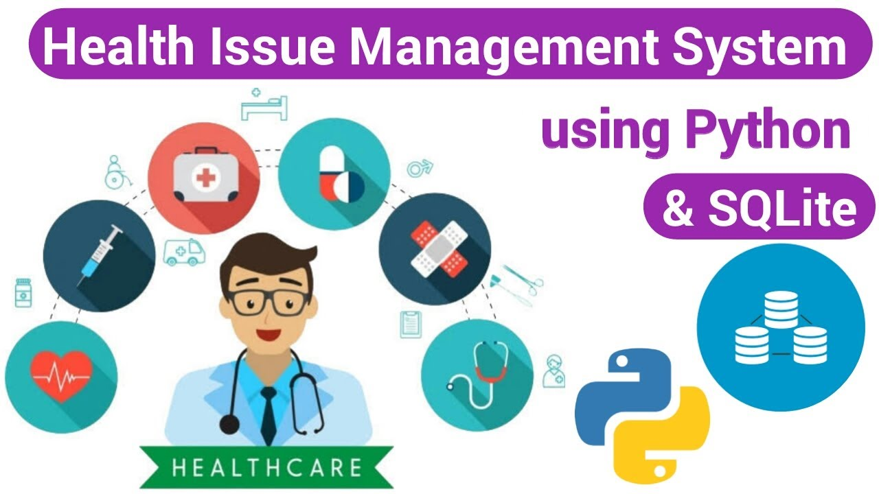 Health Management System using SQLite and Python