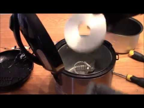 How To Take Apart The Aroma Housewares 4 Cup Digital Cool Touch Rice Cooker and Food Steamer