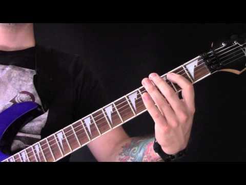 Blow Your Trumpets Gabriel Guitar Tutorial by Behemoth