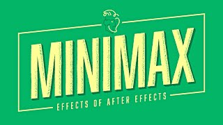 Minimax \u0026 Long Shadows Effects Of After Effects