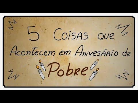 5 COISAS QUE ACONTECEM NO ANIVERSÁRIO DE POBRE thumbnail