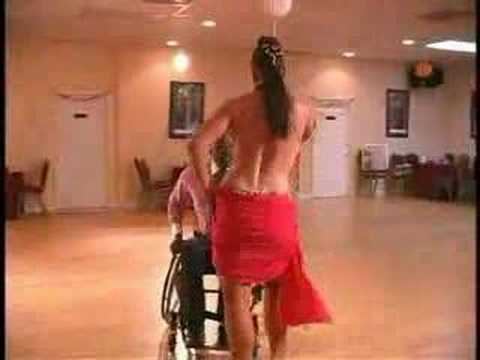 How To Make A Dance Floor >> Wheelchair Dancing: Dancing with the MOTTEP Stars - YouTube