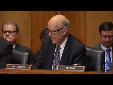 Things get heated in Senate Finance Committee after Senator makes a valium joke.