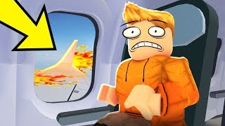 This Roblox PLANE CRASH STORY Isn't what you THINK!
