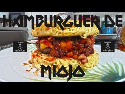 Cozinha Heavy Trash Episódio 01 - Hamburguer de Miojo (Full)