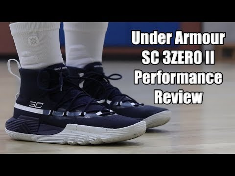 outlet store 7782c ad0d8 Under Armour SC 3ZERO 2 Performance Review - YouTube