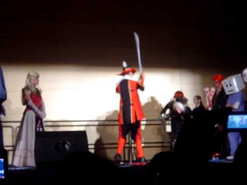 Connecticon 07 Cosplay Chess Zelda VS Red Mage