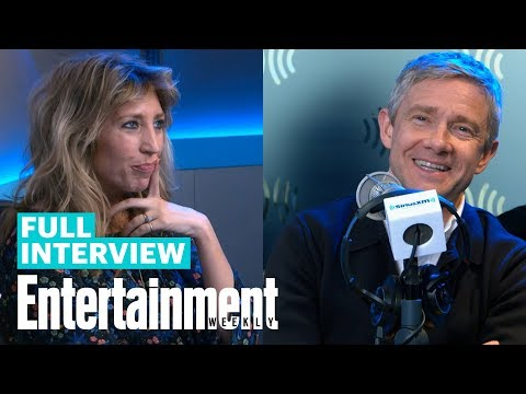 Martin Freeman & Daisy Haggard Chat About New Series 'Breeders'   Entertainment Weekly