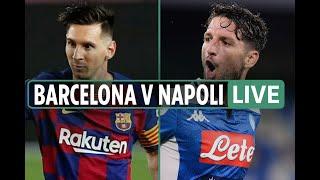 Barcelona vs napoli| live stream