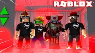 BLOX4FUN SQUAD FACING THE SCARY ELEVATOR in ROBLOX