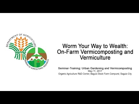 Worm Your Way to Wealth: On-Farm Vermicomposting and Vermiculture