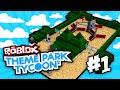 Theme Park Tycoon 2 #1 - BIG RIDES BIG FUN (Roblox Theme Park Tycoon 2)